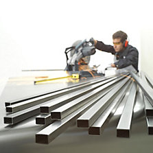 Perfiles de aluminio y tabiques