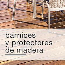 Barnices y protectores de madera