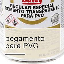 Pegamento para PVC