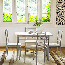 Muebles precios bajos siempre en sodimac for Mesa 4 sillas homecenter