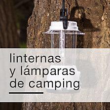 Linternas y lámparas de camping