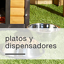 Platos y dispensadores