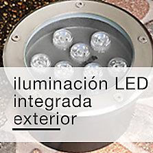 Iluminación LED integrada exterior