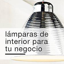 Lámparas de interior para tu negocio