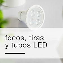 Focos, tiras y tubos LED