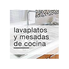 Lavaplatos y mesadas de cocina