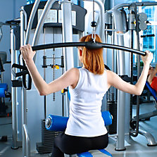 Maquinas de ejercicio y bancas