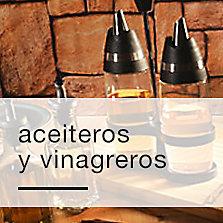 Aceiteros y vinagreros