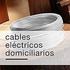Cables eléctricos domiciliarios