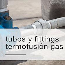 Tubos y fittings termofusión gas