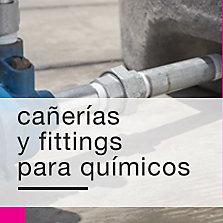 Cañerías y fittings para químicos (galvanizados)