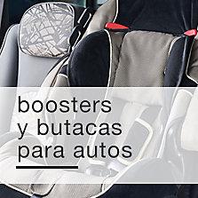 Boosters y butacas para autos