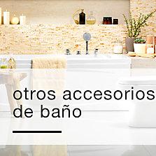 Accesorios y textil de bano precios bajos siempre en sodimac for Precios de accesorios de bano