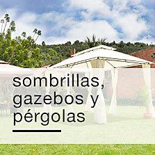 Pergolas, Gazebos y Sombrillas