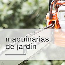 Herramientas y maquinarias de jardín