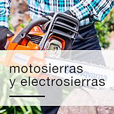 Motosierras y electrosierras