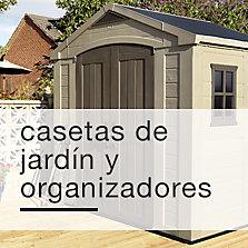 Casetas de jardín y organizadores