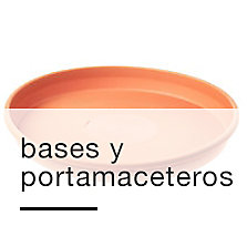 Bases y portamaceteros
