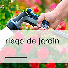 Riego de jardín