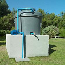 Bombas y tanques de agua