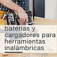 Baterías y Cargadores para herramientas inalámbricas