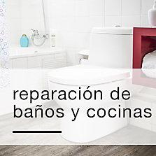 Reparación de Baños y Cocinas
