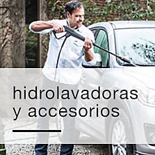 Hidrolavadoras y accesorios