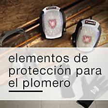 Elementos de protección para el plomero