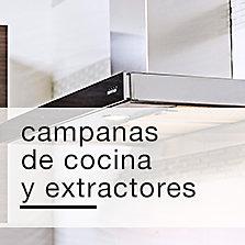 Campanas de cocina y extractores