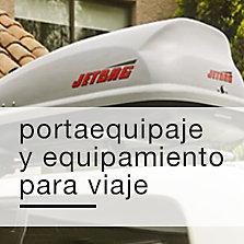 Portaequipajes y equipamiento para viaje