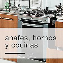 Anafes, hornos y cocinas