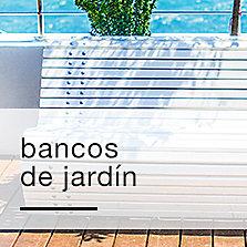 Bancos de jardín