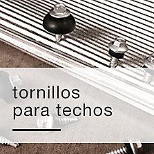 Tornillos para techos