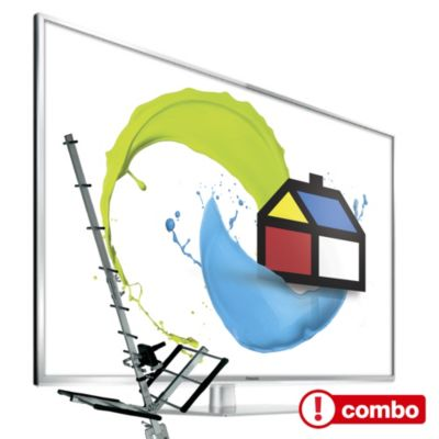 Combo TV LED 42' Full HD Smart + Antena digital y análoga