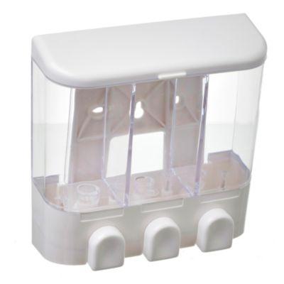 Dispensador para jabón líquido triple