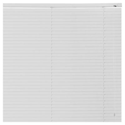 Cortina americana de PVC blanco 160 x 165 cm