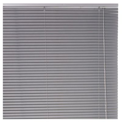 Persiana de aluminio Plata 150 x 250 cm