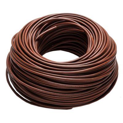 Cable unipolar 6 mm2 marrón 100 m