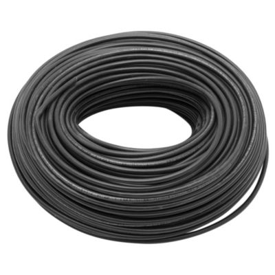 Cable unipolar 6 mm2 negro 100 m