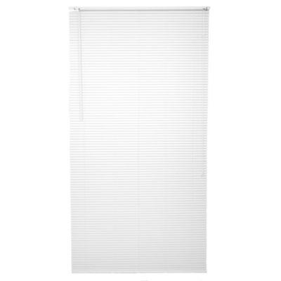 Cortina americana de PVC blanca 120 x 220 cm
