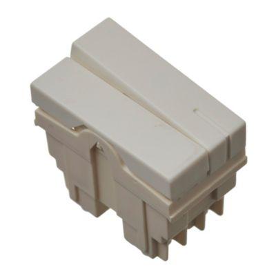 Módulo medio interruptor blanco 10 ax