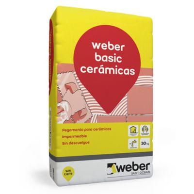 Adhesivo para cerámica basic 30 kg