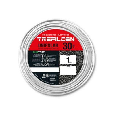 Cable unipolar 1 mm2 blanco 30 m