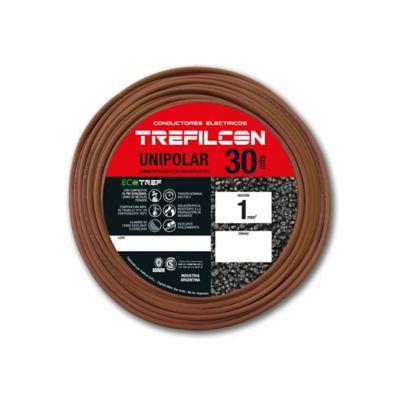 Cable unipolar 1 mm2 marrón 30 m