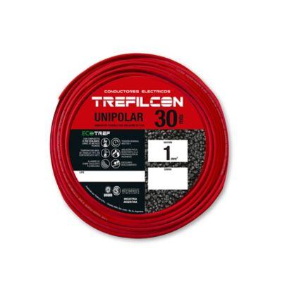 Cable unipolar 1 mm2 rojo 30 m