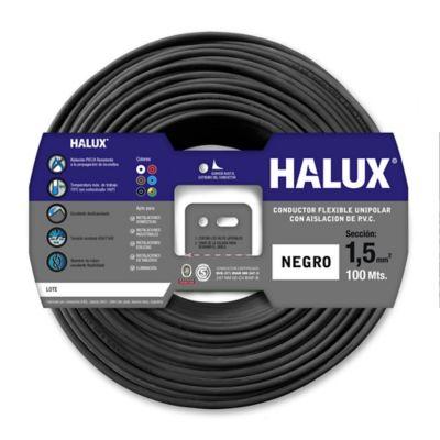 Cable unipolar 1.5 mm2 negro 100 m