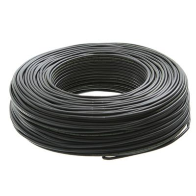 Cable unipolar 1.5 mm2 negro 100 m