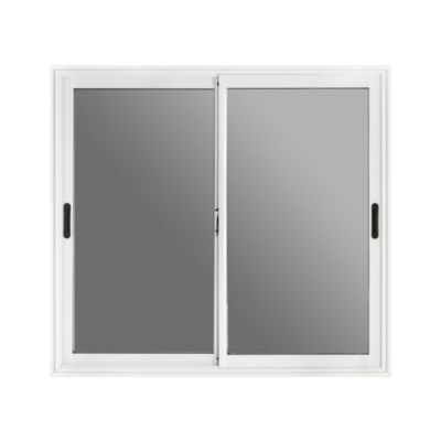 Ventana de aluminio 150 x 150 cm blanca