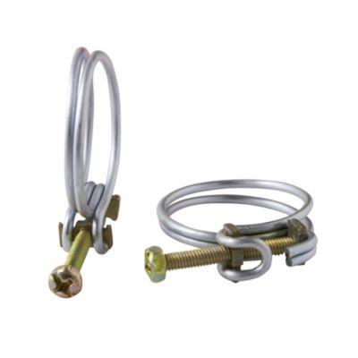 Abrazadera de acero 32 a 28 mm 2 u