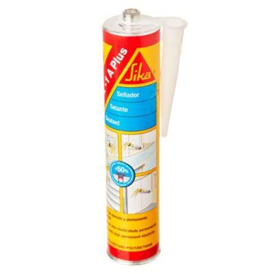 Sellador de poliuretano sikaflex 1a gris 300 ml